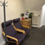 Waiting area; Office; Rachel Phillips; Hamilton House; Nottingham;